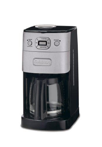 31datRXZGxL - Cuisinart Grind and Brew Automatic | Bean to Cup Filter Coffee Maker | Glass Carafe | DGB625BCU