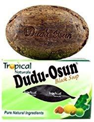 Dudu-osun African Black Soap (100% Pure) Pack of 1