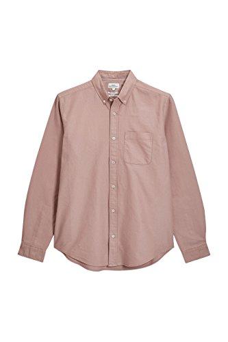 next Herren Oxford-Hemd Normale Passform Shirt Freizeithemd Herrenhemd Hemd Hellrosa