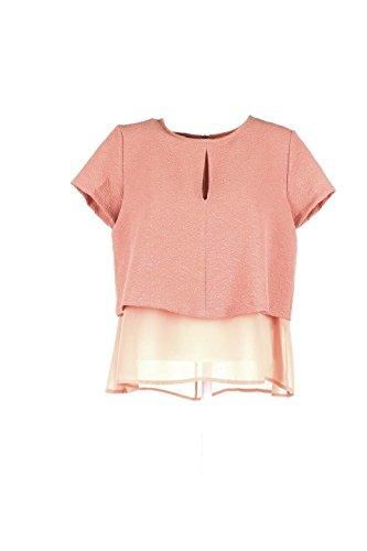 Blusa Donna Kaos Collezioni 48 Rosa Fi1eg065 Autunno Inverno 2015/16