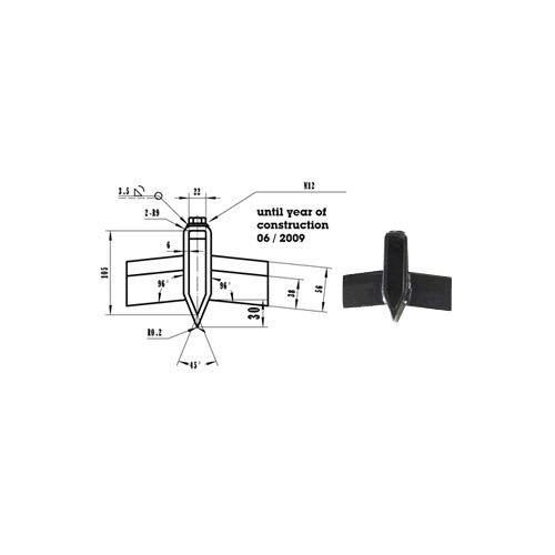 ATIKA Ersatzteil Spaltkreuz 22 mm für Brennholzspalter ASP 10 N ***NEU***