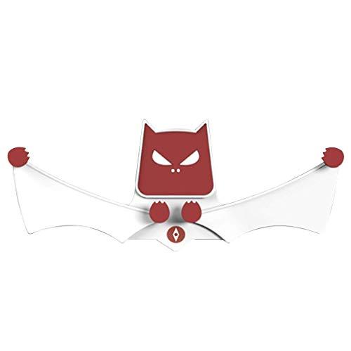 Hozora Safe Grip Car Bat Telefonhalterung,Universal 360 ° -Drehung Fledermausfüße Autotelefonständer Lüftungshalterung (Weiß)