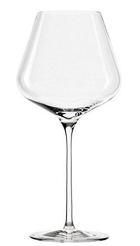 Bicchieri da vino rosso Burgunder Stölzle Lausitz Quatrophil 708ml, set da 6, bicchieri panciuti, come soffiati a mano, qualità Premium, resistenti ai lavaggi in lavastoviglie