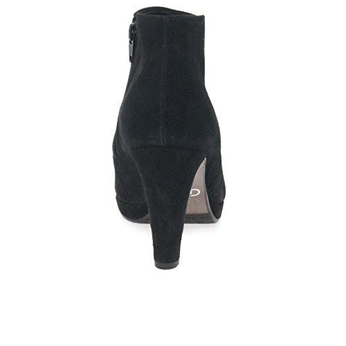 Gabor Basic, Bottes Classiques Femme Daim Noir