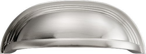 Hickory Hardware p3104-SN 96mm Deco Satin Nickel Cabinet Cup Ziehen - Sn Cup