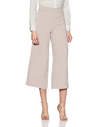 Cover Story Women's Straight Synthetic Pants (TRCO03UB0631-PI_Pink_32)