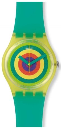 Swatch gj135 vitamina Booster unisex watch44; Multicolor Dial