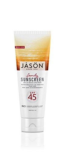 Sunbrella-sonnenschutz (Jason Bodycare SPF 45 Family Block 113g)