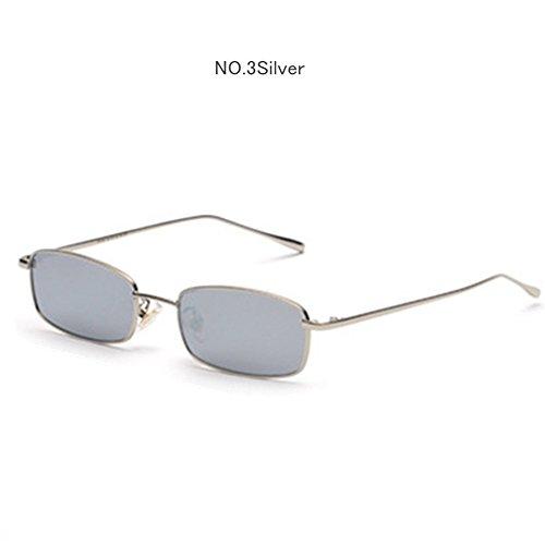 ille Männer Frauen Marken Designer Metall Sonnenbrille, Buchse, Rot, Pink Kontaktlinsen BRILLEN Männlich, C3 (Metall-buchsen)