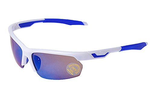 insun Outdoor Polarisierte Radfahren Sport-Sonnenbrille, damen, weiß