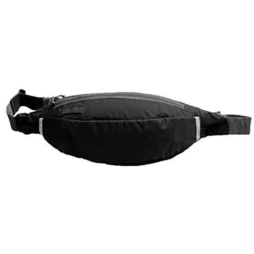 Moda Colorata Sport All'aria Aperta Tasche Tasche Equitazione Esercizio Borsa Tapis Roulant Satchel Moto,Black Black