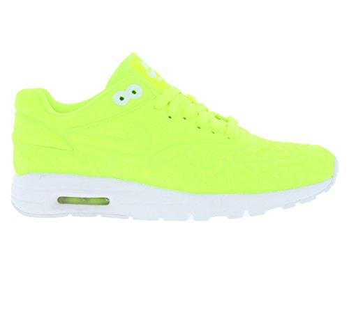 Nike W Air Max 1 Ultra Plush, Chaussures de Running Entrainement Femme Amarillo (Amarillo (volt/volt-white))