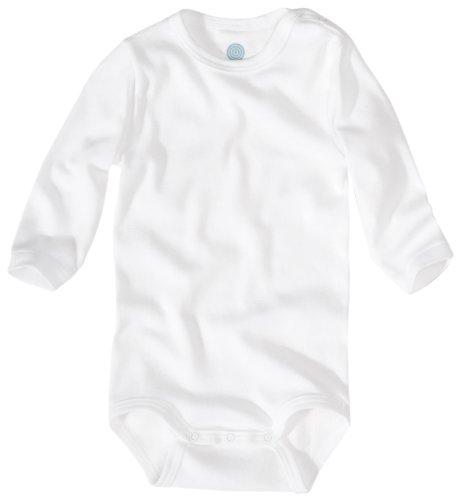 Sanetta 320700 Unisex - Baby Babykleidung/ Unterwsche/ Bodys, Gr. 80 Wei