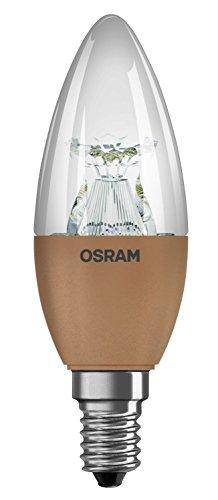 Osram 4052899947818 BLI1 LED Super star flame Culot E14 5,7 W Transparent Lot de 6
