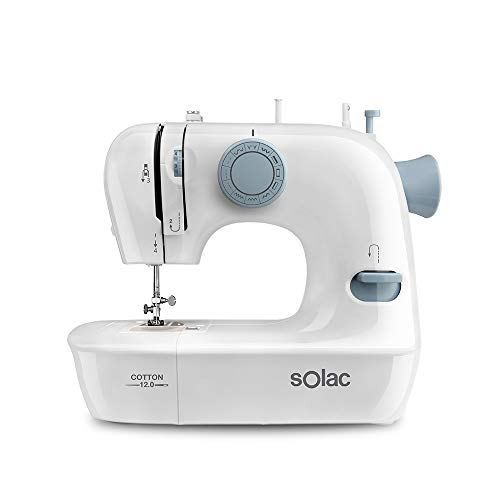 Solac SW8220 Cotton 12 Máquina de Coser mecánica