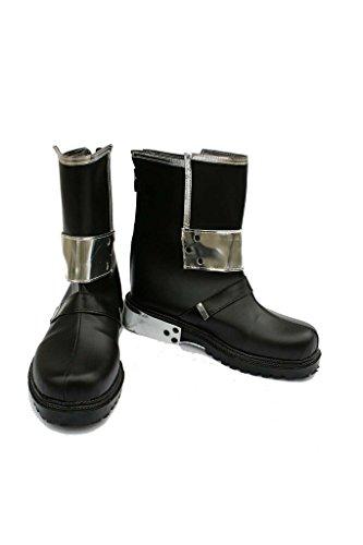 Sword Art Online Kirito Stiefel Karneval Schuhe Kirito cosplay Boots Herren Schwarz 43.5