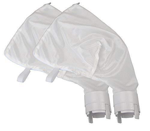 Ersatzbeutel mit Reißverschluss, passend für Polaris 360, 380 Pool-Reiniger, Allzweckfilterbeutel für Polaris-Filterbeutel, 2 Stück