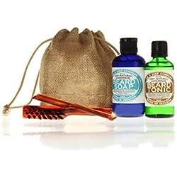 Dr K Soap Company Set de lujo de cuidado para barba