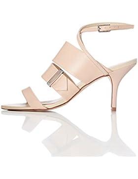 FIND Sandalo con Tacco Donna