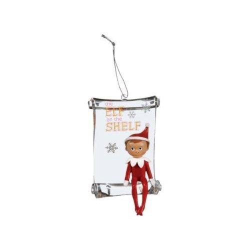 Roman die Elfe auf die Ablage Holiday Ornament Singles
