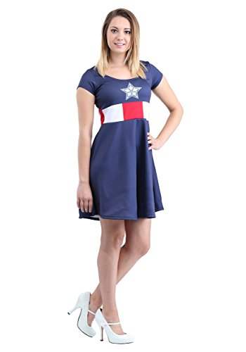 Mighty Fine Captain America Marvel Dress Small