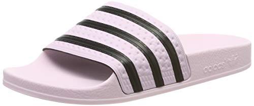 adidas Damen Adilette W Dusch-& Badeschuhe, Clear Pink/Core Black, 39 EU