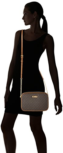 Michael Kors - Jet Set Item, Borse a secchiello Donna Marrone (Brown)