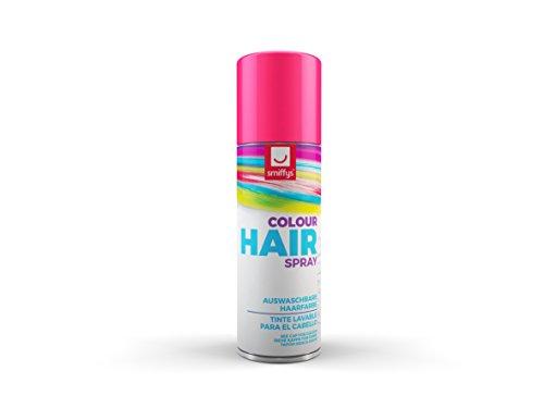 Smiffys 052PK - Farbiges Haarspray 125 ml, rosa