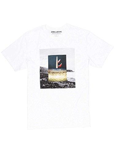Billabong Frames Tee Ss, Maglietta Manica Corta Uomo Bianco