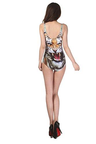 Thenice -  Costume intero  - Donna tigre