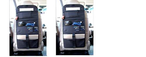 Auto Drive Ad Car Office Organization (2 Stück) zusammenklappbar in Tragetasche & Schoß Schreibtisch -