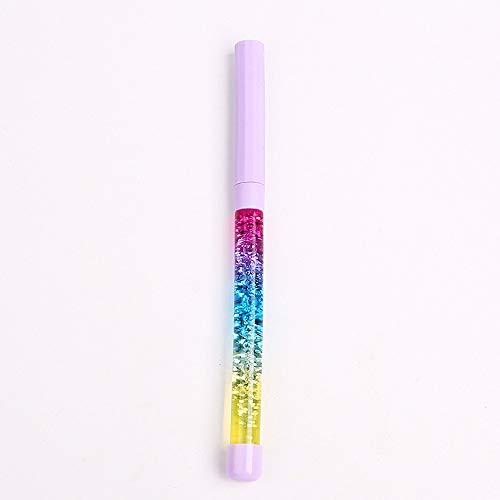 Niedliche Nadel (Pen,Hunpta1 stück 0,5mm löschbaren gelstift Cartoon niedlich Kawaii schwarz tintenschreiber Nadel Beschreibung)