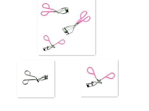 Voberry Cils Curler Cils Curler Nature Curl Style Mignon Curl Cils Curlers-S (PINK)