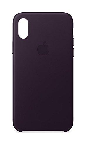 Apple Leder Case für iPhone X, dunkelaubergine - 31dbzjHAJYL - Apple Leder Case für iPhone X, dunkelaubergine