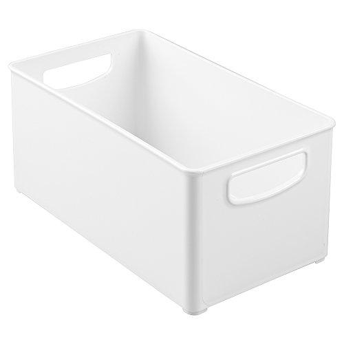 InterDesign 64531EU Bac de Rangement pour Armoire de Cuisine Blanc