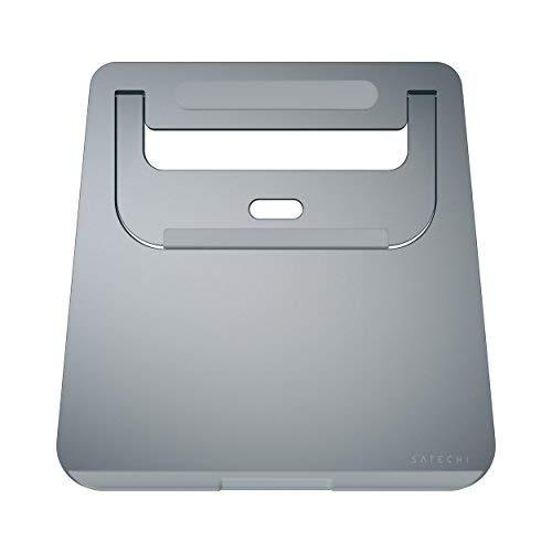 Satechi Aluminium Tragbarer & Verstellbarer Laptop Stand, Klappbarer und leichter Stand für Laptops, Notebooks, und Tablets (Space Grau)