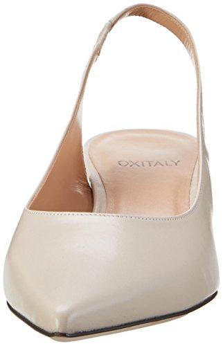 Oxitaly Ladies Sandra 103 Pumps Ivory (riso)