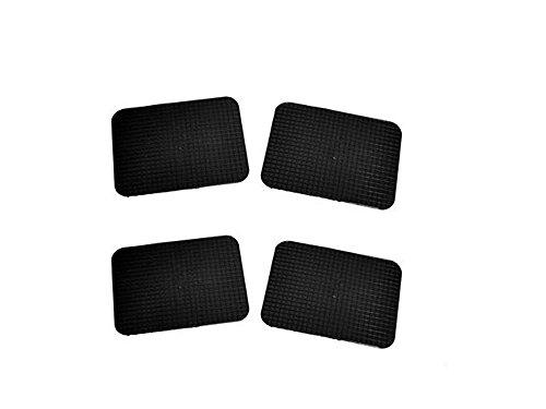 Vetrineinrete Tappetini per auto universali antiscivolo 4 pezzi tappeti in gomma 43x33 cm P18