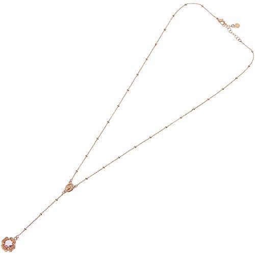 Gothic-rosenkranz-halskette (Halskette Damen Schmuck Ottaviani Elegante Cod. 600173C)