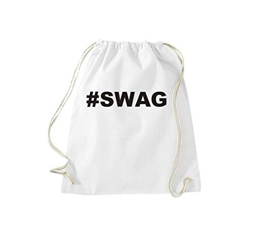 Borsa Da Ginnastica Coccodrillo #swag Hashtag Borsa Da Ginnastica Hipster Cult White