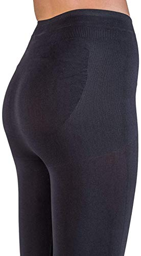 3eb9e2078a160 CzSalus leggings with reducing effect and push-up with Caffeine + Vitamin E  - Black