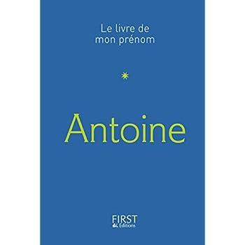 20 Le Livre de mon prénom - Antoine