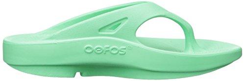 OOFOS Ooriginal Thong, Sandales de Sport Femme green