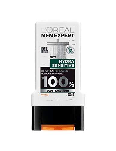 L'Oreal Paris Men Expert Hydra Sensitive Birch Sap Shower Ultimate Soothing (300 ml)
