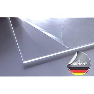 Cuadros Lifestyle Acrylglas   PMMA   transparent   glasklar   UV beständig   beidseitig foliert   im Zuschnitt   4 mm stark   30x30 cm / 2er Pack