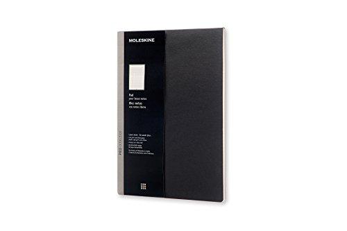 Bloc-Notes - Format A4 - Couverture Souple Noire