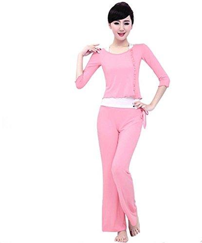 Femme formation vêtements de yoga costume / danse / sport / 3 PCS Pink