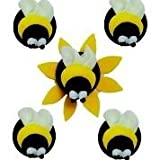 Best Creative Converting Cake Pans - Creative Party Bumblebee Sugarcraft Toppers, 8.5g Review