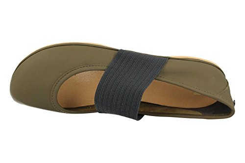 Camper Right Nina, Ballerines Femme Vert (Dark Green 103)