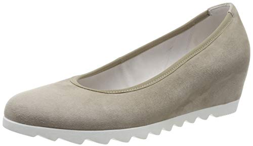 Gabor Shoes Basic, Scarpe con Tacco Donna, Marrone (Visone (S.Weiss) 12), 39 EU